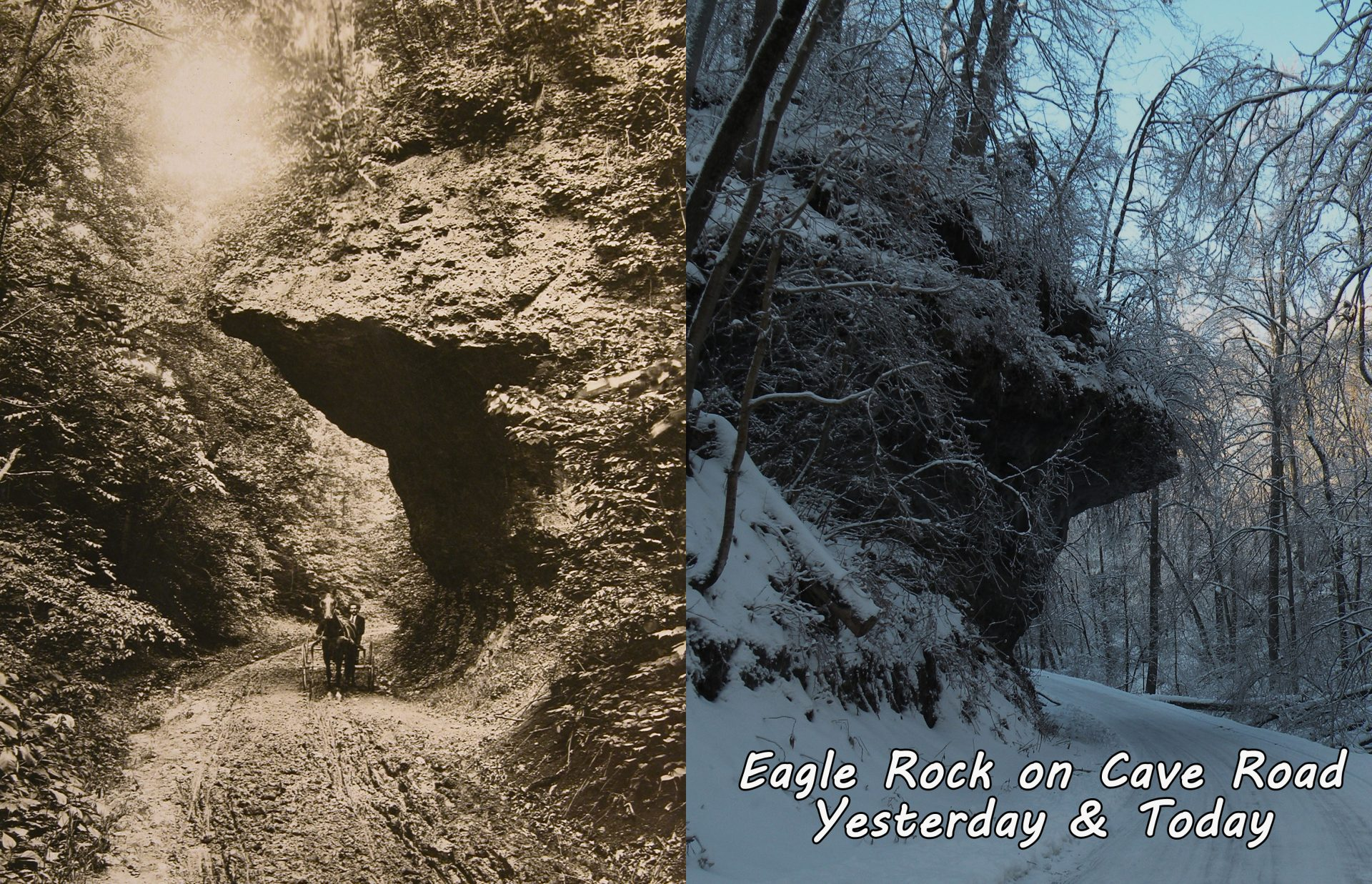 Eagle Rock Yesterday and Today