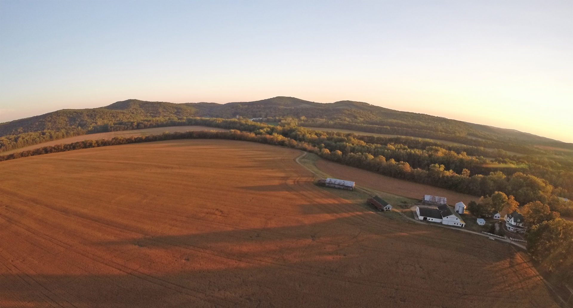 Aerial view of the beautiful Junction at sunset. Photo courtesy of Tim Anderson, Jr. Tim, you are lthe BEST!!!