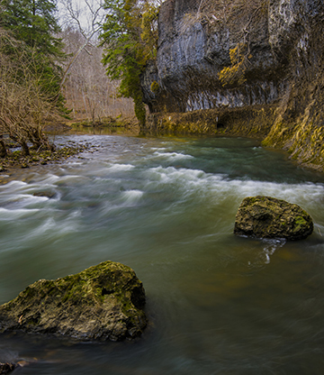Photo of the Rocky Fork Gorge by Tom Croce